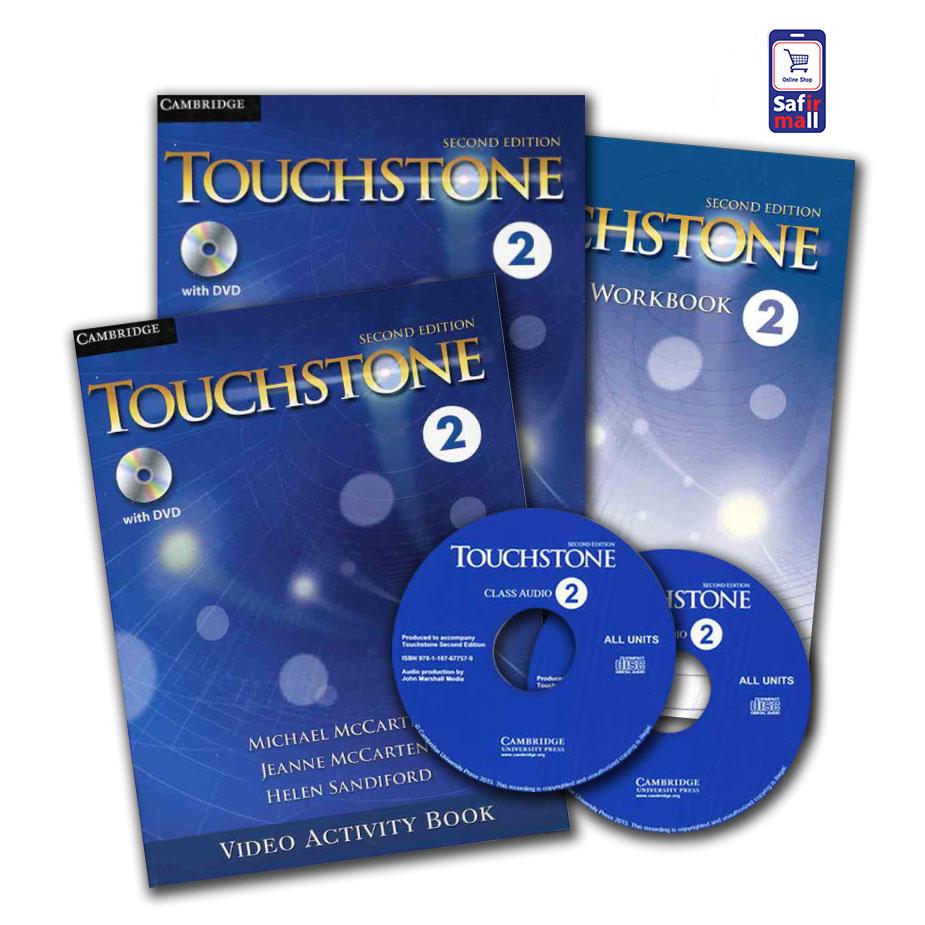 Touchstone 2 +Video Activity Book 2– پک تاچ استون 2 و کتاب فعالیت های ویدیویی