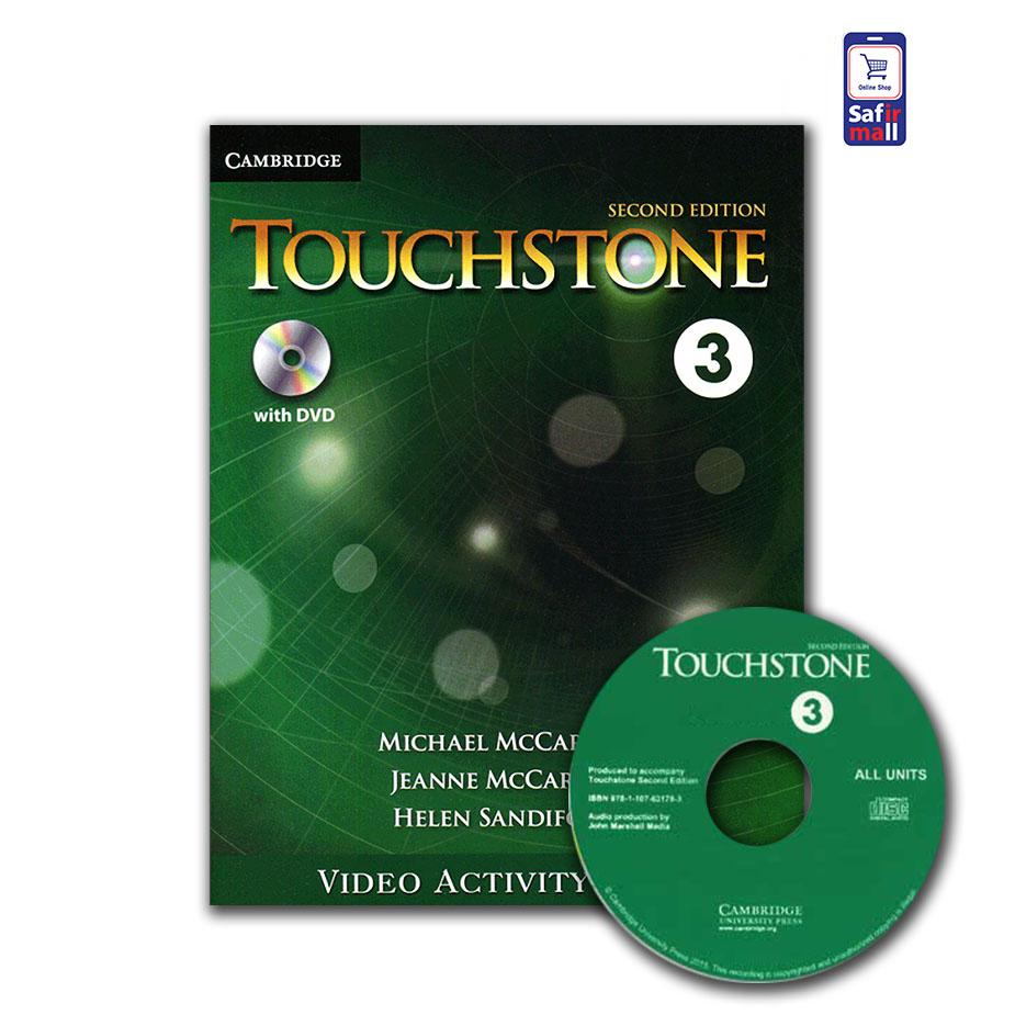 کتاب فعالیت های ویدئویی تاچ استون  TouchStone 3 – Video Activity Book