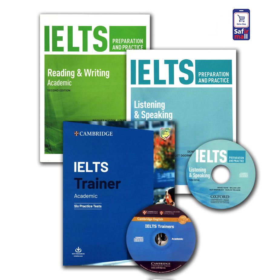 پک خودآموز آیلتس آکادمیک IELTS preparation and practice