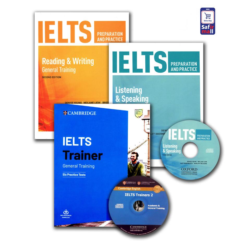 پک خودآموز آیلتس جنرال IELTS preparation and practice