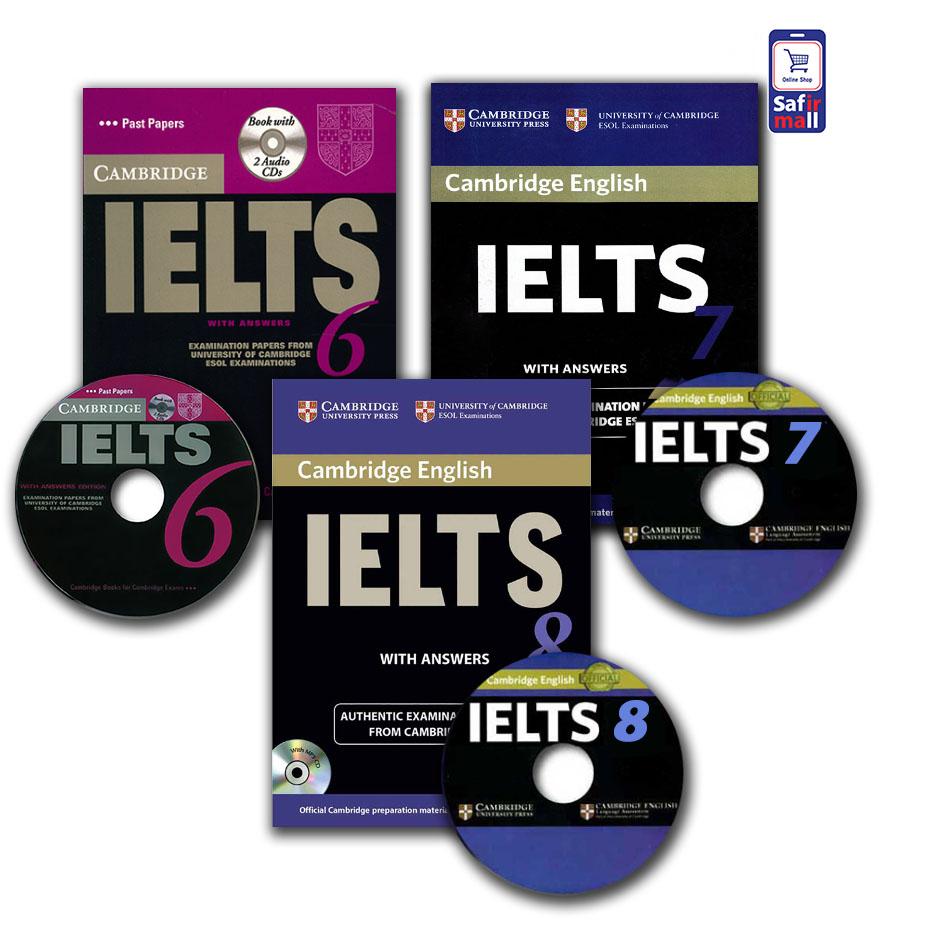 مجموعه نمونه سوالات کمبریج آیلتس – 6,7,8 Cambridge IELTS