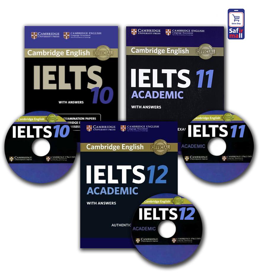 مجموعه نمونه سوالات کمبریج آیلتس آکادمیک – 10,11,12 Cambridge IELTS Academic