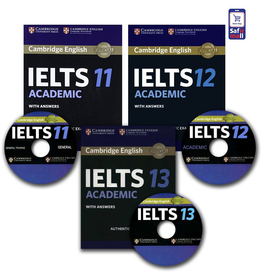 مجموعه نمونه سوالات کمبریج آیلتس آکادمیک – 13,12,11 Cambridge IELTS Academic