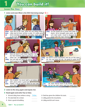 کتاب فمیلی اند فرندز Family and Friends 5