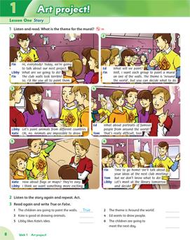 کتاب فمیلی اند فرندز Family and friends 6