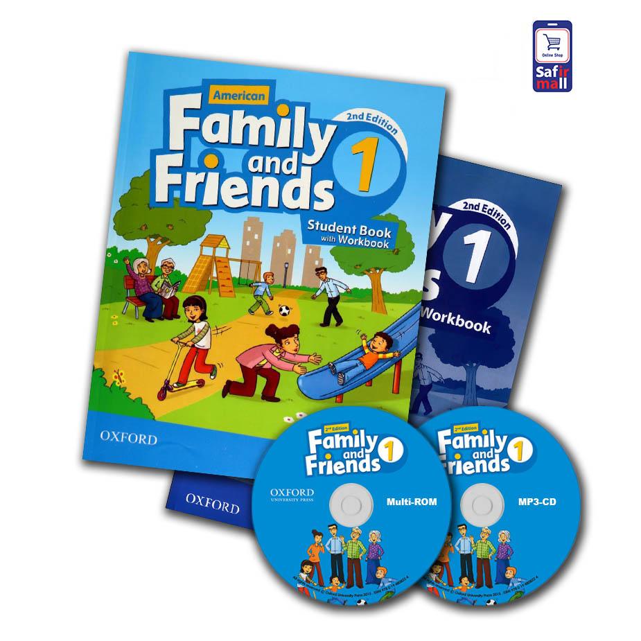 کتاب فمیلی اند فرندز Family and Friends 1