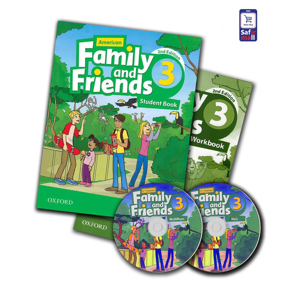 کتاب فمیلی اند فرندز Family and Friends 3