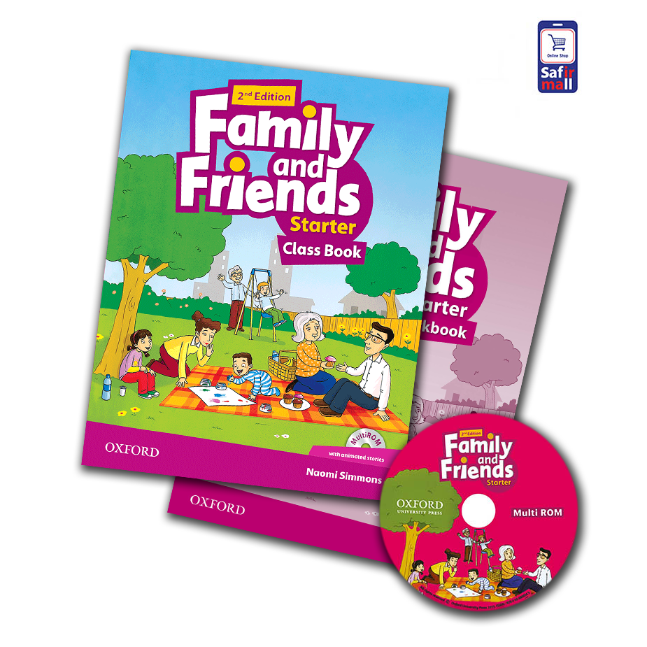 کتاب فمیلی اند فرندز Family and Friends Starter