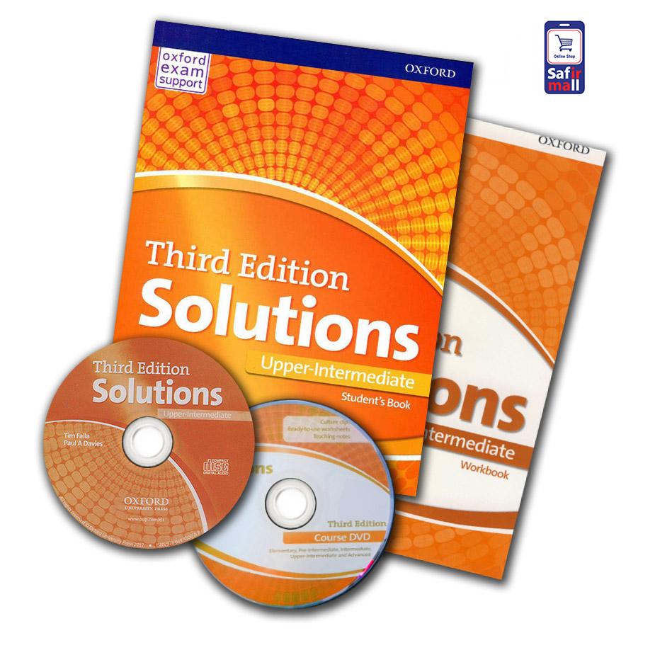 کتاب Solutions Upper-Intermediate