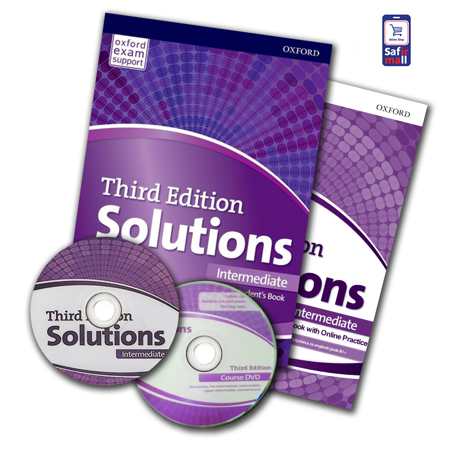کتاب Solutions Intermediate