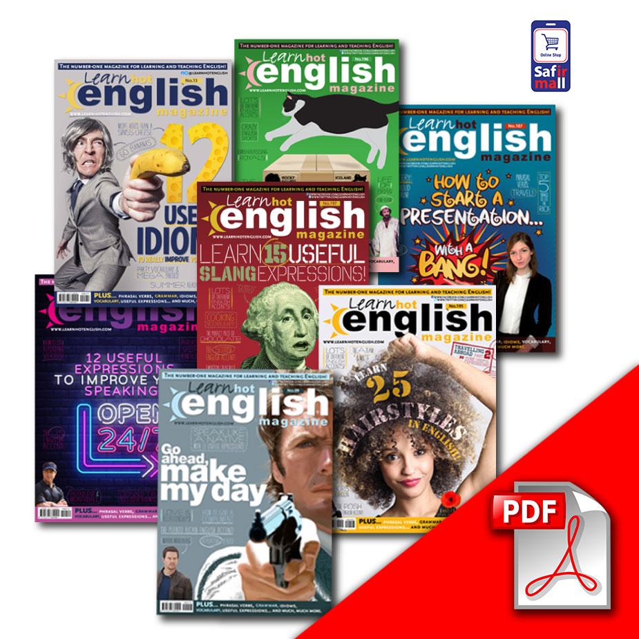 دانلود PDF مجله Learn Hot English