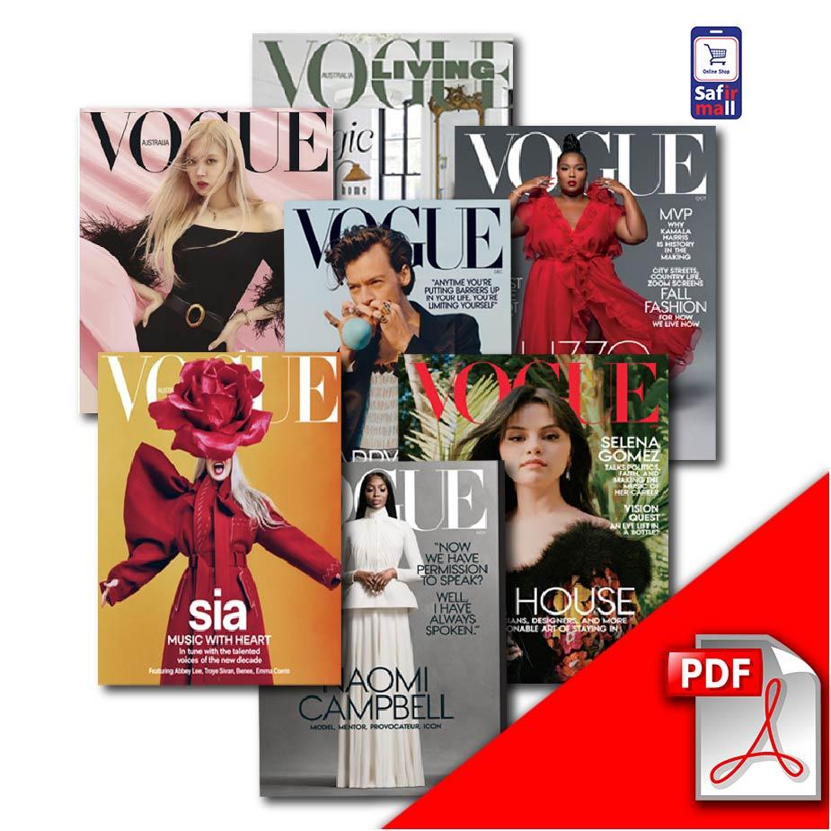 دانلود PDF مجله ووگ Vogue