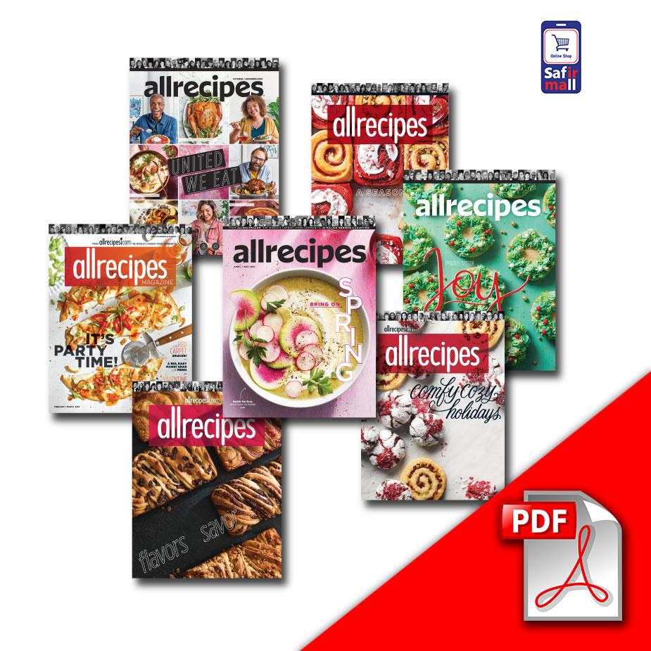 دانلود PDF مجله Allrecipes